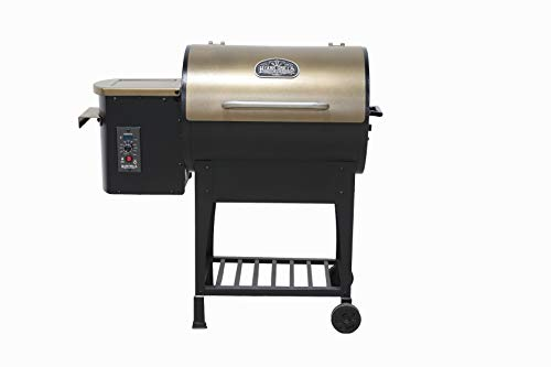 Ozark Grills - The Razorback Wood Pellet Grill a Smoker with Temperature...