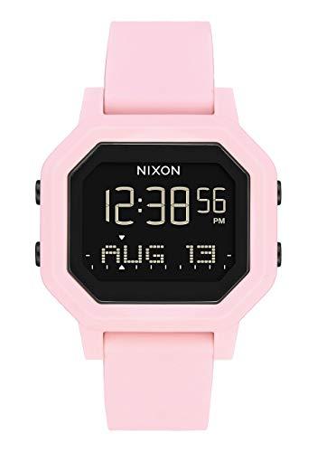 Nixon Damen Digital Uhr mit Silikon Armband A1210-3154-00