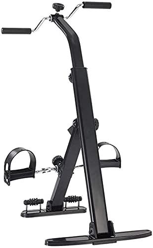 Qjkmgd Pedal Ejerciturador médico vendedor médico para el brazo de la pierna y el ejercicio de recuperación de la rodilla con el monitor LCD y el amplificador;Rodillo de masaje de pies, equipo de reha