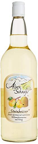 Alpenschnaps | Steinbeisser | 1 x 1l | Honig willi | pures Alpenglück im Glas