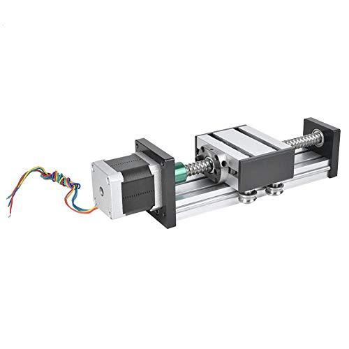 Kugelumlaufspindel Linearführung Schlitten Versteller 500mm Hub + Nema23 57 Schrittmotor für DIY CNC Router Fräsmaschine(1610)
