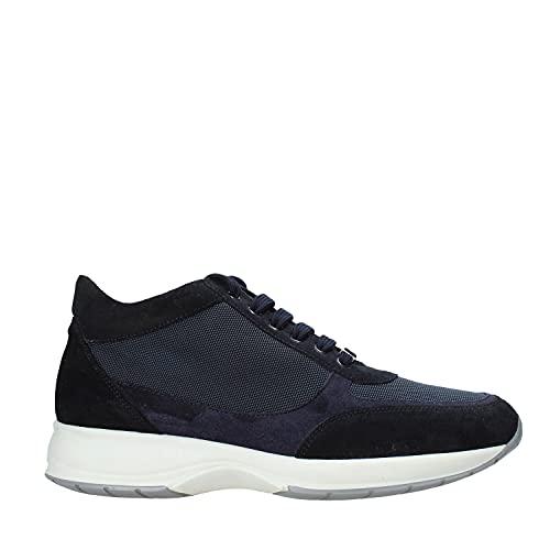 scarpe uomo alviero martini Alviero Martini 1a classe Scarpa lacci Uomo Blu 9778 312b