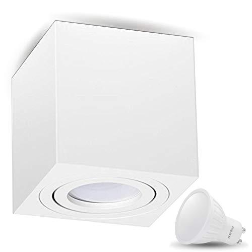 Aufbauleuchte Deckenleuchte Aufputz MILANO 7W LED...