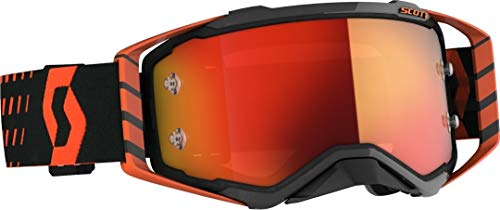 Scott Prospect MX Goggle Cross/MTB Brille orange/schwarz/orange Chrom Works