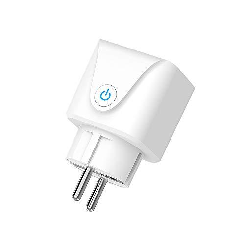 Nrpfell 16A Smart Auslauf Tuya APP Drahtlose Fern Bedienung/Timer, Kompatibel mit Alexa/Assistant/IFTTT, UnterstüTzt Nur 2,4 GHz WiFi EU Stecker