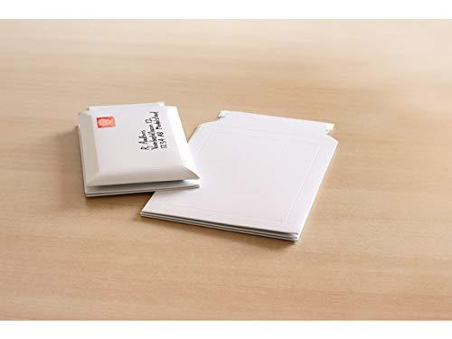 Envelop Jaarhuis 238x312mm doos doos wit 450gr 5 st. Zelfklevend.
