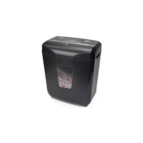 Amazing Deal ZLDQBH Black Shredder-Duty Cross-Cut Paper Shredder, CD and Credit Card Shredder Machin...