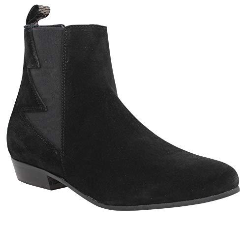 Schmoove Peckham Boots Velours Femme Noir