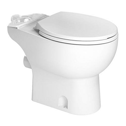 Saniflo 083 White Toilet Bowl Round, One Size