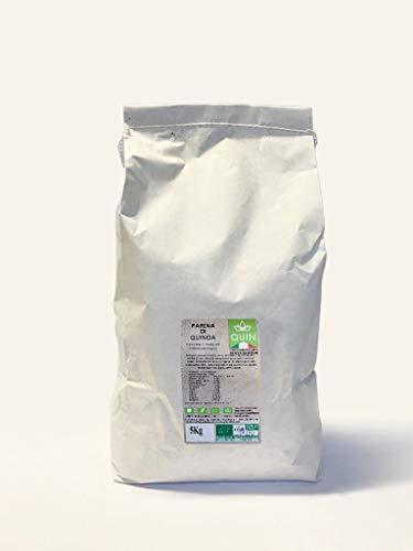 QUIN - Farina di Quinoa Biologica Italiana - Senza Glutine (5Kg)