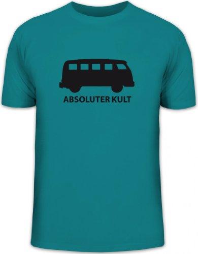 Shirtstreet24, ABSOLUTER Kult, Bus Herren T-Shirt Fun Shirt Funshirt, Größe: L,Diva