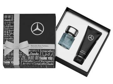 Mercedes-Benz Collection 2020 Eau de Toilette & Duschgel for Men, 2er-Set (40 ml EdT + Duschgel)