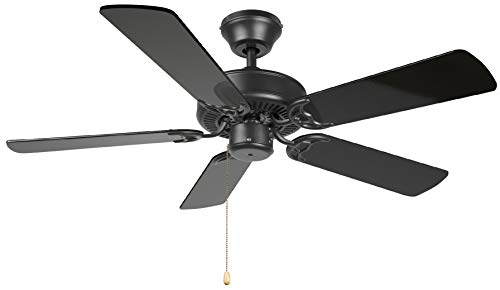 Hyperikon 42 Inch Ceiling Fan No Light, 55W, Remote Control...