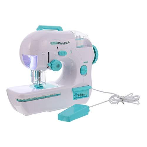TOYANDONA Mini Portable Enfants Machine à Coudre Électrique Couture Style Artisanat Kit Jouets Éducatif Intéressant Jouet pour Enfants Filles Enfants M