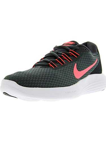 Nike Women's Lunarconverge Anthracite/Hot Punch - Black Ankle-High Running Shoe 7M