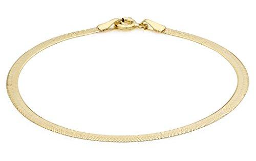 Carissima Gold Damen-Armband 9 Karat (375) Gelbgold 180 mm