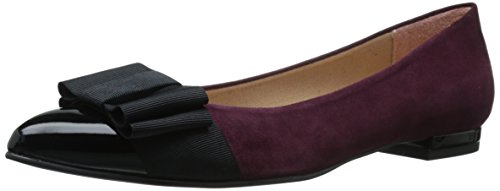French Sole FS/NY Women's Onstage, Black/Wine, 8 M US