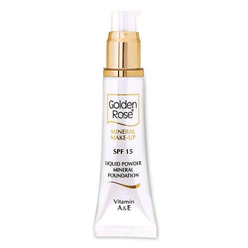Golden Rose 0031 Fond de teint minéral Liquid Powder, Pack de 2 - 35 ml