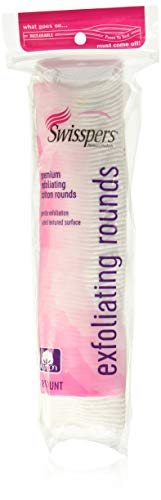 Product Image of the Swisspers Premium Exfoliating Cotton Rounds 80 ea (Pack of 4)