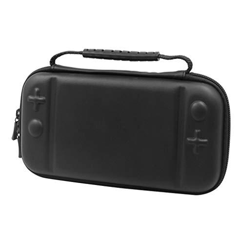 H HILABEE para Switch Lite Bolsa de Almacenamiento de Consola Bolsa Protectora de EVA Dura - Negro