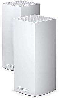 Linksys MX10600 Velop Tri-Band WiFi 6-Mesh-WLAN-System (AX10600 WLAN-Router/Extender für ein nahtloses WLAN von bis zu 525 m² und 4-mal höhere Geschwindigkeiten für über 100 Geräte, 2er-Pack, Weiß) (B0856G2LMW) | Amazon price tracker / tracking, Amazon price history charts, Amazon price watches, Amazon price drop alerts