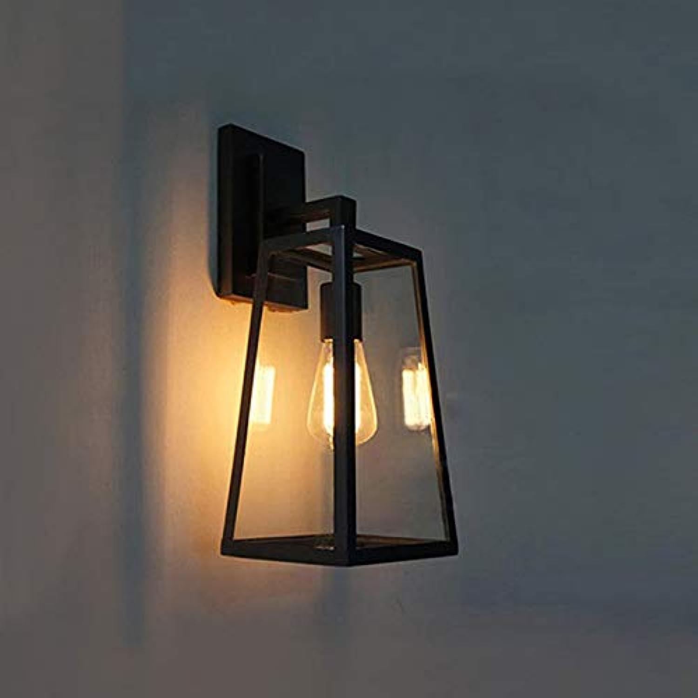 YNNB Schmiedeeiserne Wandlampe, Wohnzimmer-Schlafzimmerlicht, Einfache Aisle-Korridor-Stative Creative Wall Lampe