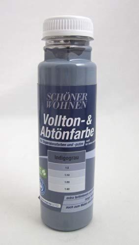 Voll- und Abtönfarbe Indigograu 250 ml
