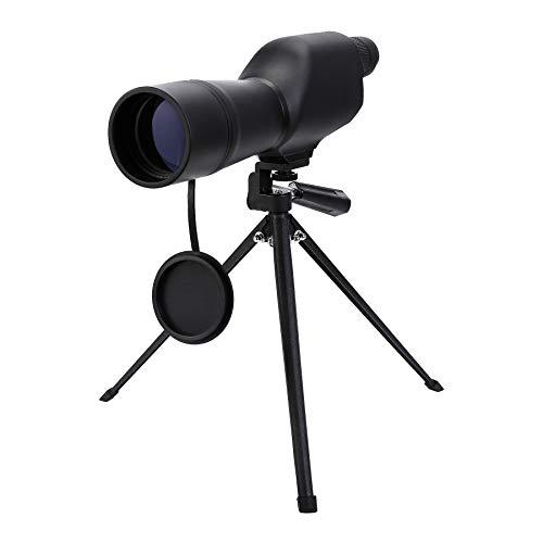 Pinty 20-60x Telescopio de Observación de Aves Alcance de la Mancha Recta con Trípode, Zoom Óptico 36-19m/1000m para Tiro al Blanco,Impermeable