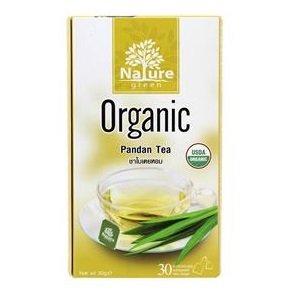 Nature green Bio-Pandan-Tee, 30 Beutel, Nettogewicht 30 g.