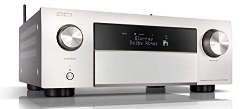 Denon AVRX4500HBKE2 9.2 Premium AV-receiver, zilver