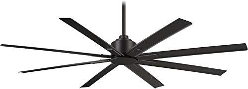 """Minka-Aire F896-65-CL, Xtreme H2O 65"""" Ceiling Fan in Coal Finish with Remote and Additional Wall Control"""