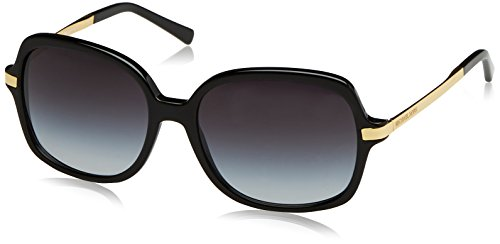 Michael Kors Damen Adrianna Ii 316011 57 Sonnenbrille, Schwarz (Black/Light Grey Gradient)