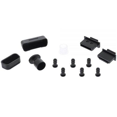 InLine 59941H Staubschutz-Set, für Audio/Video-Schnittstellen, 12-teilig
