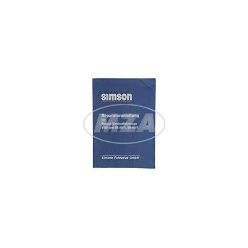 Réparation Instructions pour SIMSON de véhicules à deux roues S53, S83, SR50/1, SR80/1–1989de sortie schaltpläne