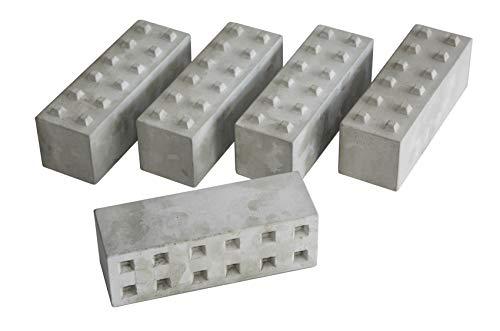 Blocs de béton, blocs de béton longs, ensemble de 5 routes, modèle de parcour 1:14