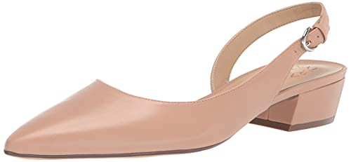 Naturalizer Women's Banks Slingback Pump, Barely Nude, 8 Wide