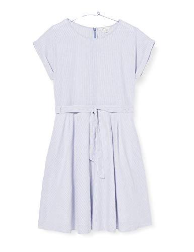 ESPRIT Damen 040EE1E328 Kleid, 443/LIGHT Blue 4, 36