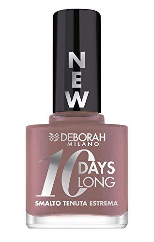 Deborah Smalto 10 Days Long N.883 Taupe Rose, Tenuta fino a 10 giorni senza ritocco o lampada UV, per...