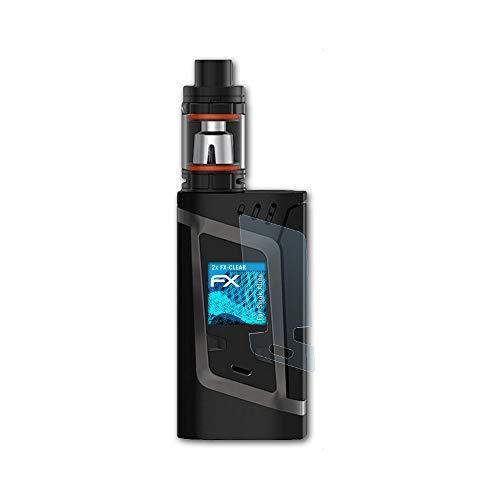 atFoliX Schutzfolie kompatibel mit Smok Alien Folie, ultraklare FX Displayschutzfolie (2X)