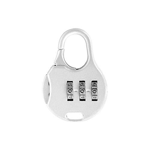 HZWLF Candados Cerradura antirrobo, dígitos de Seguridad Contraseña Equipaje Digital Número de Maleta Bolsa de Seguridad de Viaje Mochila Cerradura Secreta