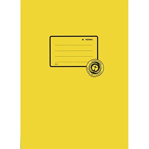 HERMA Heftschoner Recycling, DIN A4, aus Papier, gelb VE = 1