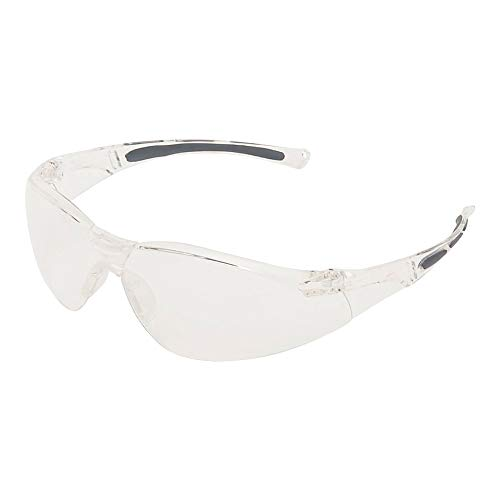 Honeywell 1015369 A800 Sporty Safety Eyewear Frame with Clear Fogban/Anti-Scratch Lens - Translucent