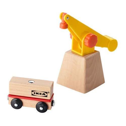 Ikea 503.200.99 LILLABO Kran und Wagen 3 Teile