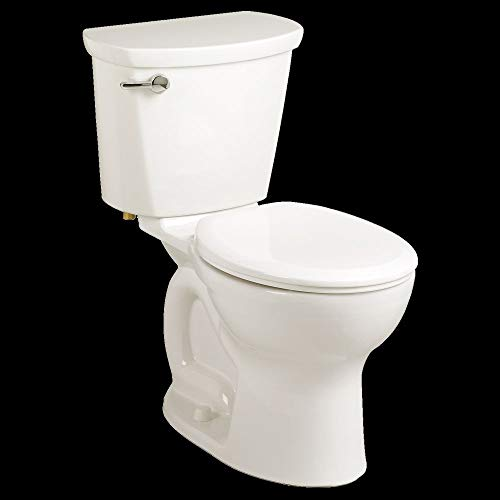American Standard 215DB104.020 Cadet Pro 1.28 GPF 2-Piece Round Front Toilet with 10-In Rough-In, Medium, White