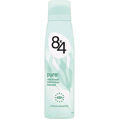 8x4 Deo Spray Pure, 6er Pack (6 x 150 ml)