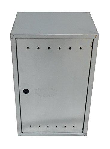 Einside - Caja de chapa de acero galvanizado para contador de gas, varios tamaños disponibles