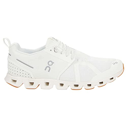 ON Running Womens Cloud Terry Textile Synthetic White Trainers 8 US