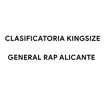 Clasificatoria Kingsize