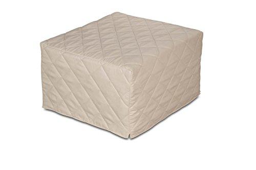 EvergreenWeb – Puf Cuadrado colchón Plegable Cama Individual para Invitados, 9 cm de Altura en...