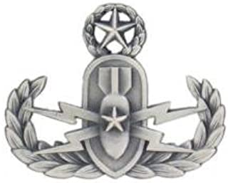 Badges And Collar Devices Navy Master Explosive Ordnance Disposal Badge Oxidized Finish - Regulation